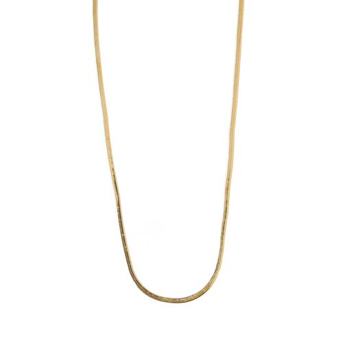 Flat necklace GOLD