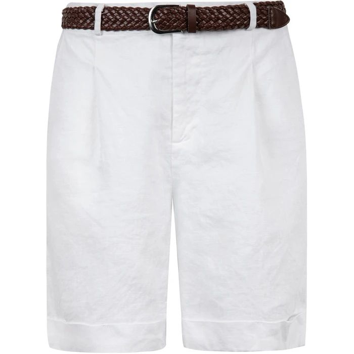 Lacy Shorts White
